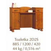 ANDALUSIA Toaletka 2D2S